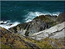 SC2484 : Northwest coast of St Patrick's Isle by Chris Gunns
