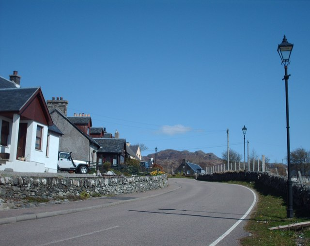 Arisaig Main Street Looking East