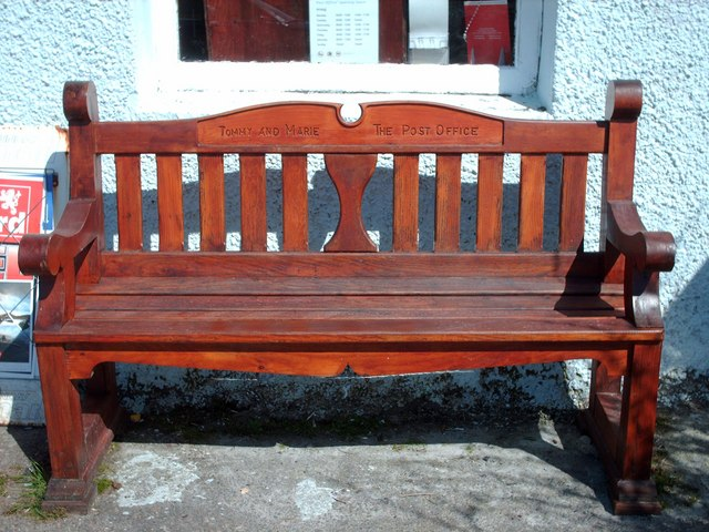 Post Office Bench
