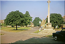 SP0937 : War Memorial, Broadway, Worcestershire taken 1964 by Gladys Matthews