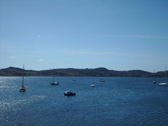 Towards Morroch Point