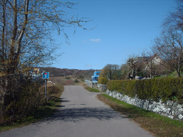Road To Arisaig Cemetery
