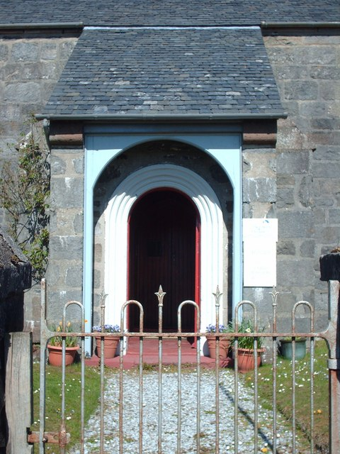 Entrance to Arisaig Church Of Scotland
