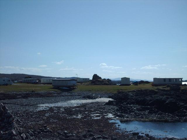 Portnadoran Caravans Looking West