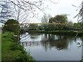 SK2003 : Footbridge Over River Tame, Tamworth by Geoff Pick