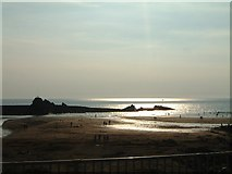 SS2006 : Low tide and evening light, Bude Haven by Simon Huguet