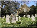 SU1012 : St. James Churchyard, Alderholt by Adrian King