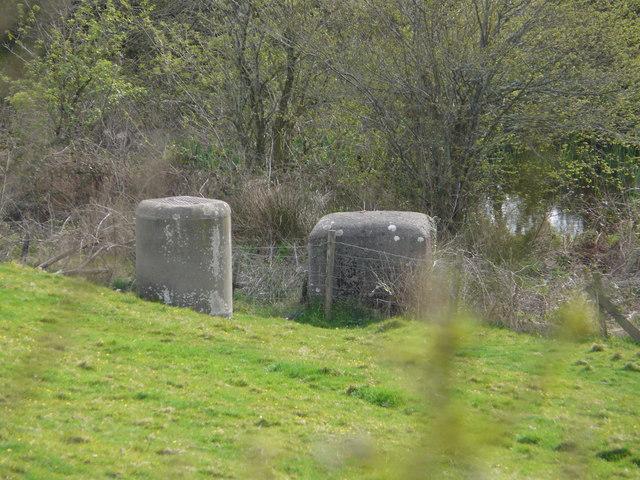 Hydraulic Ram near Patsford