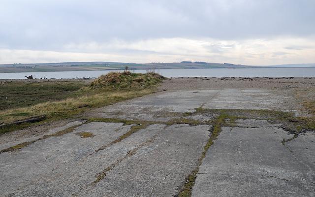 Slipway on Alness Point
