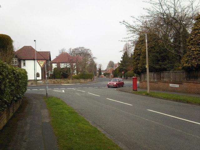 Junction of Sandringham Road and Mount Road ,Penn.