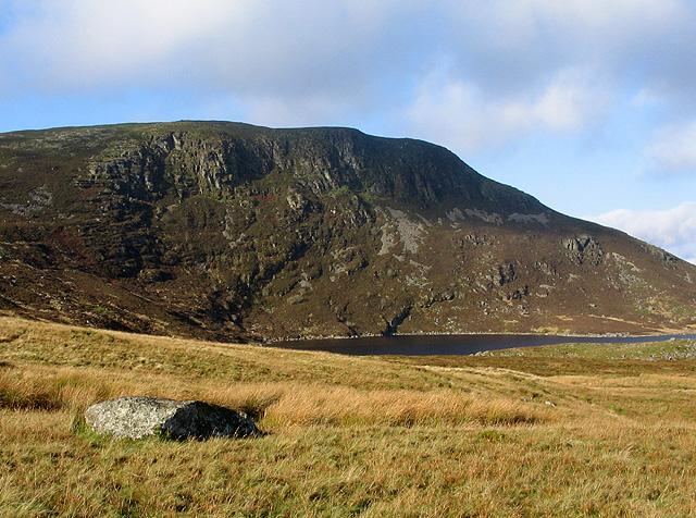 Moorland above Llyn Arenig Fach