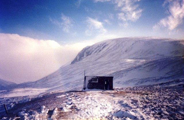 Sinclair Memorial Hut, Lairig Ghru, Scotland