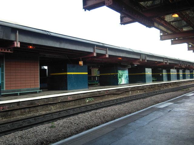 Derby Railway Station.