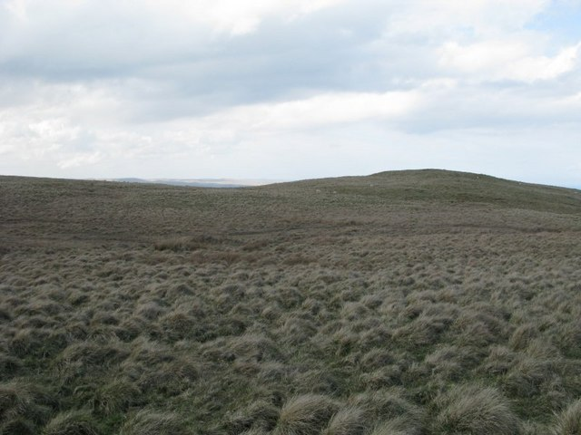 Moorland on the side of Black Hill