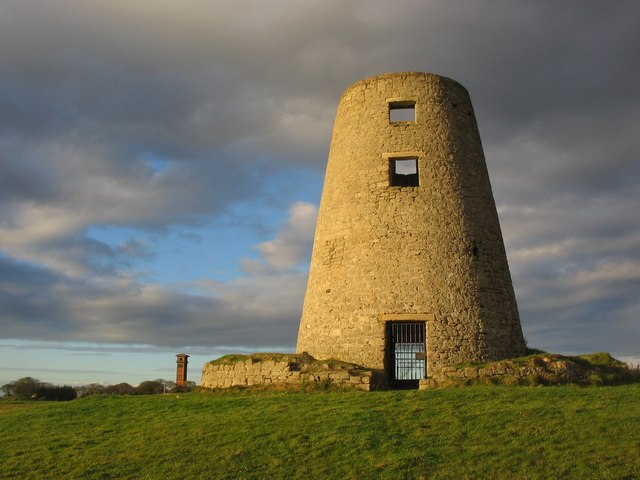 Cleadon Hills Mill and Water Tower