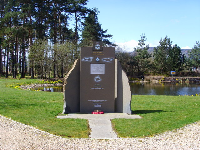RAF Memorial at Alnness Point Business Park