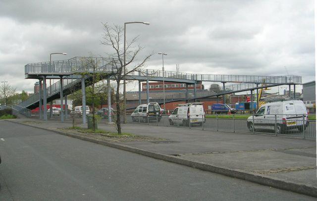 Footbridge over Gelderd Road