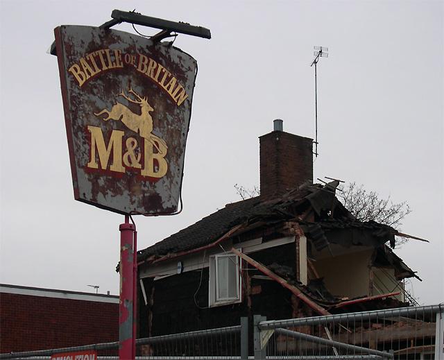 The ex Battle of Britain 3, Penn, Wolverhampton