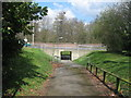 SU6451 : Footpath underpass to War Memorial Park by Given Up