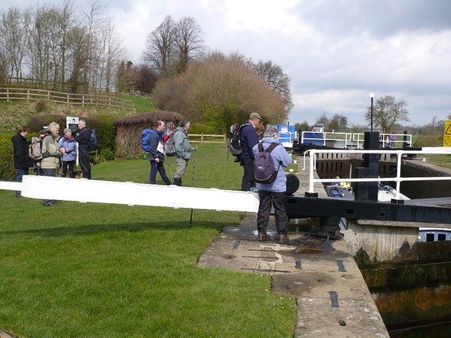 Oxclose lock on The Ripon Canal