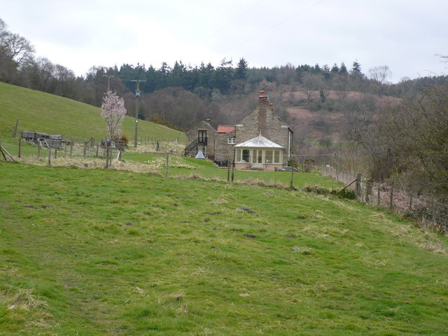Rear of High Woods Farm in Shallow Dale