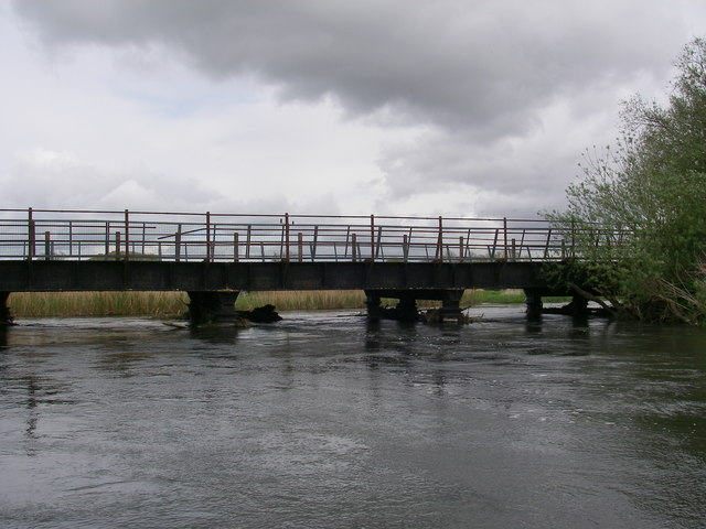 Old railway bridge at Ringwood