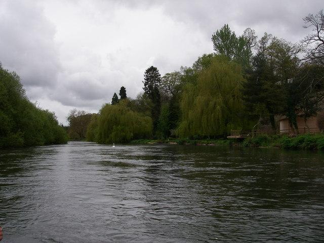 River Avon above Avon Castle