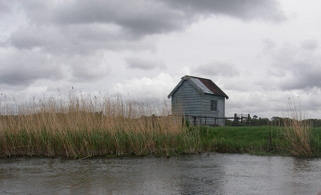 Fishermen's hut