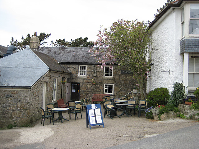 Tinners Arms pub, Zennor