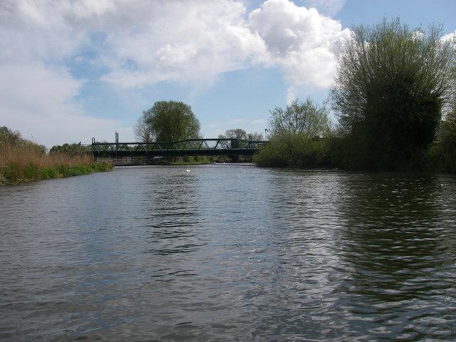 River Avon above Christchurch waterworks