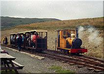 SC4278 : 'Polar Bear' at the Groudle Glen Railway by Dr Neil Clifton