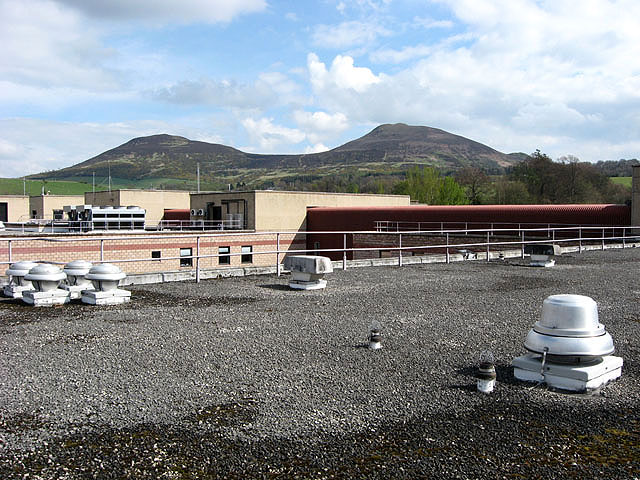 The roof at the Borders General Hospital