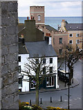SC2667 : View of Castletown from Castle Rushen by Chris Gunns
