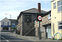 SX0158 : The Bugle Inn pub, Bugle by Pauline E