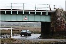 SD0894 : Road Beneath the Eskmeals Viaduct by Steve Partridge