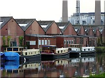 SE4824 : Dutch barges by anthony buckley