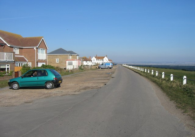 Coast Road - Littlestone seafront