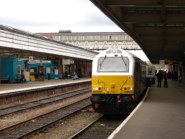 Wrexham and Shropshire Railway train at Shrewsbury