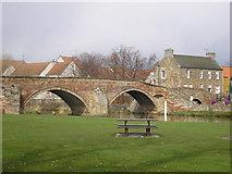 NT5173 : Nungate Bridge by Sandy Gemmill