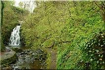 J3996 : Glenoe waterfall (32) by Albert Bridge