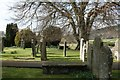 NY1525 : St Cuthberts Church Graveyard. by Steve Partridge