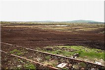 N4937 : Narrow Gauge Railway and Bog by kevin higgins