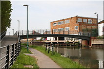 TQ1883 : Footbridge over the Paddington Arm by Dr Neil Clifton