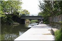 TQ2182 : Old Oak Lane Bridge 7, Paddington Arm, Grand Union Canal by Dr Neil Clifton