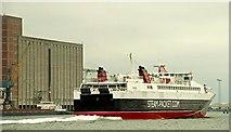J3576 : IoM ferry at Belfast (3) by Albert Bridge