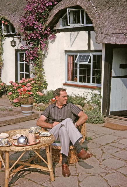Tea Shop, Welford on Avon, Warwickshire taken 1964