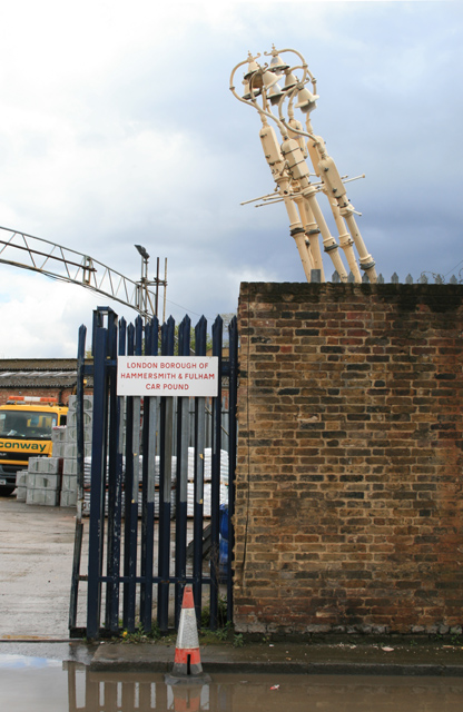 The Hammersmith & Fulham Car Pound