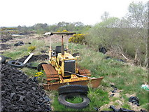 N1119 : Retired bulldozer near Cloghan by Kieran Campbell
