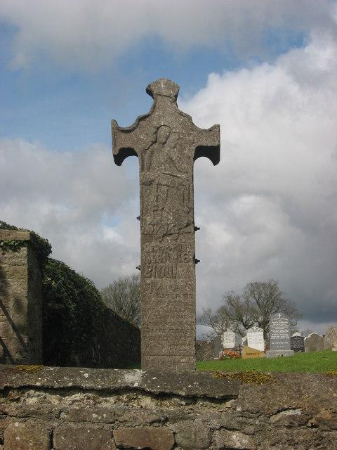 Balrath cross, east face