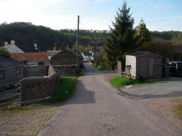 Cove, centre of the hamlet